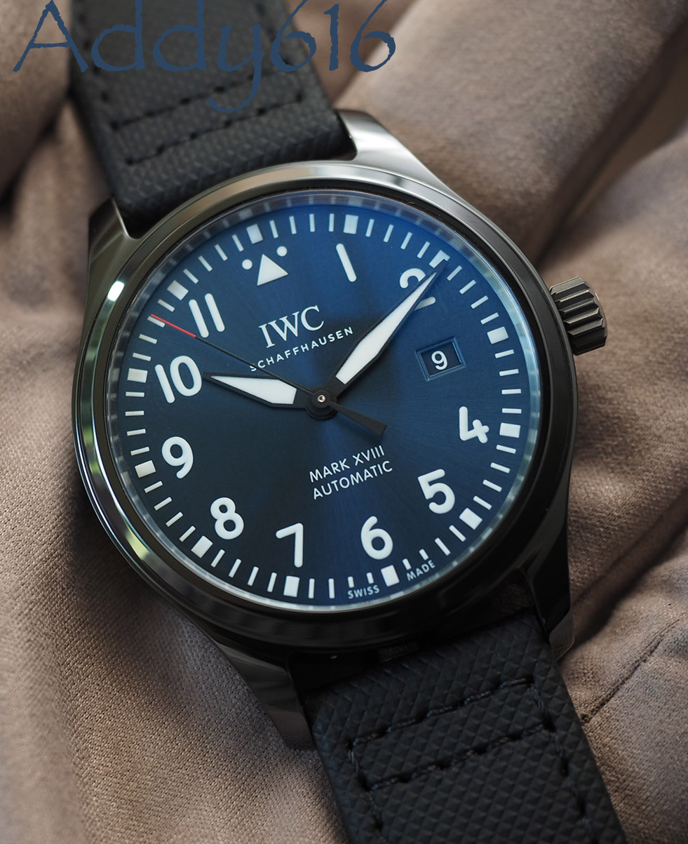 "brand new 0c4e1 b7eee Fs iwc pilot's watch mark xviii edition ""laureus sport for ..."